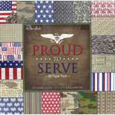 "Proud to Serve Paper Pack - 12"" x 12"""